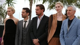 cast of the great Gatsby in Cannes