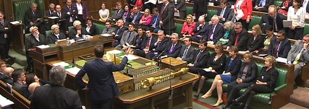 Nick Clegg, speaking in the House of Commons
