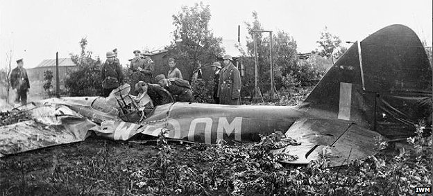 Bristol Blenheim crashed in Germany