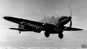 Fairey Battle bomber