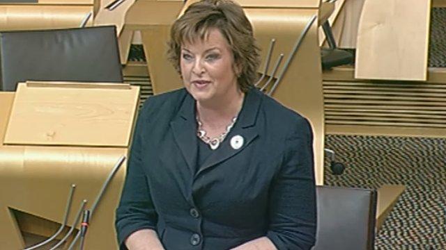 Culture Secretary Fiona Hyslop