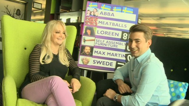 Bonnie Tyler speaks to Newsround's Ricky