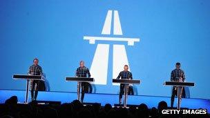 Kraftwerk perform Autobahn