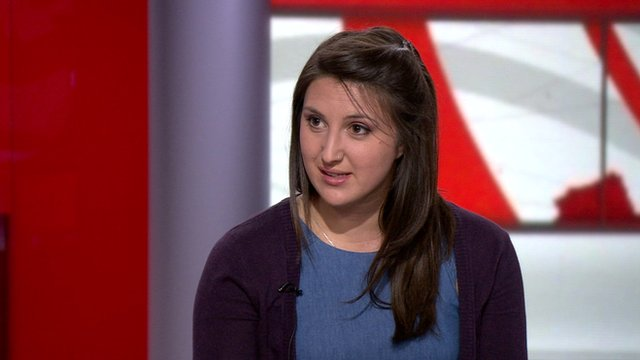 Rachel Wenstone of the National Union of Students.
