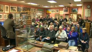 The sale was at Wingetts Auction House in Wrexham