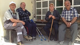 Villagers in Ablanitsa