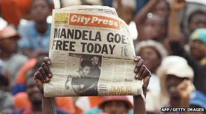 Mandela news article
