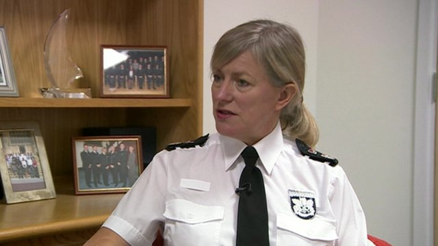 Chief Constable Sara Thornton