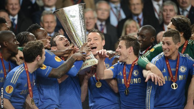 Chelsea fc winners of Europa League