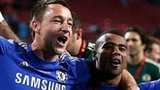 Chelsea players celebrate
