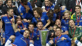 Chelsea Europa League winners
