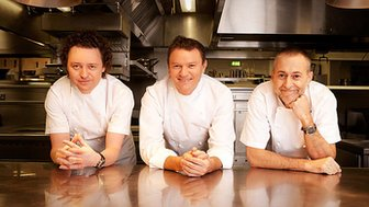 Tom Kitchin, Theo Randall, Michel Roux Junior