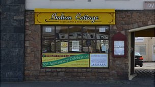 Indian Cottage restaurant in St Sampson, Guernsey