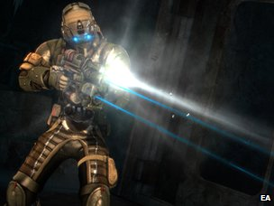Screenshot from Dead Space