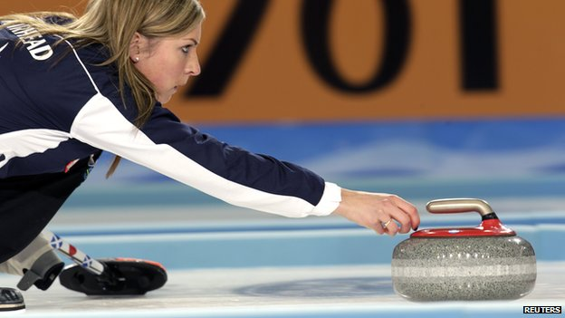 Scottish curler Eve Muirhead