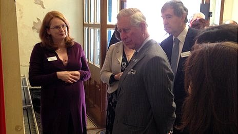 Prince Charles at Wedgwood Institute