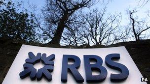 RBS headquarters in Edinburgh