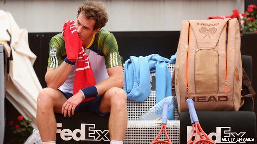 Andy Murray retiring in Rome