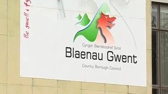 Blaenau Gwent sign