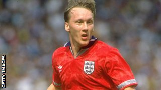 England's Lee Dixon