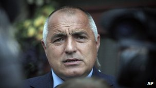 Boiko Borisov  in Sofia (12 May 2013)