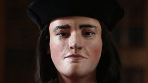 Reconstructed face of Richard III