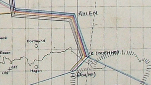 Map of the Dambusters route