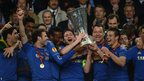 Juan Mata, Frank Lampard, Jon Obi Mikel, John Terry