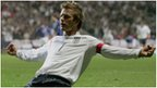 Beckham: A towering personality and player