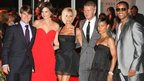 Tom Cruise, Katie Holmes, Victoria and David Beckham, Jada Pinkett Smith and Will Smith