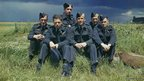 Original Dambusters crew after raid