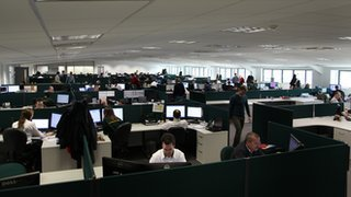 Caterham F1 design office