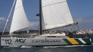 The Caterham sailing Challenge team