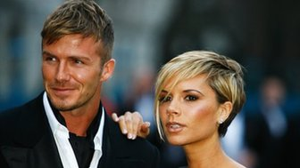 David and Victoria Beckham 