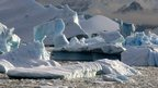 Antarctic Peninsula scenery in James Ross Island near the northern tip of the Antarctic Peninsula