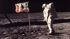 Edwin Aldrin Jr on the Moon