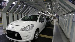 peugeot production line