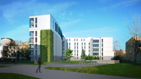 New UEA halls of residence