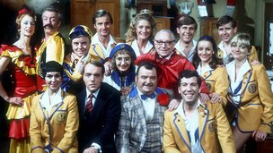 Hi-de-Hi cast featuring David Webb