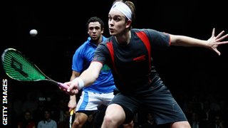 James Willstrop and Ramy Ashour