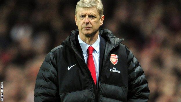 Arsenal's Arsene Wenger