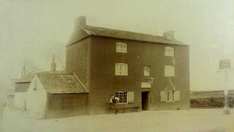 Red House Pub circa 1890