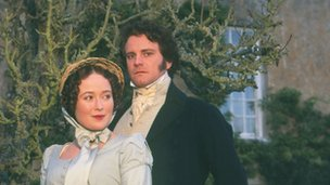 Colin Firth and Jennifer Ehle in the BBC's Pride and Prejudice