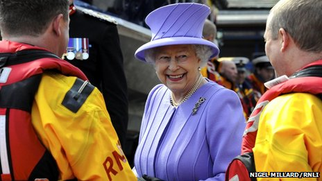 St ives queen visit