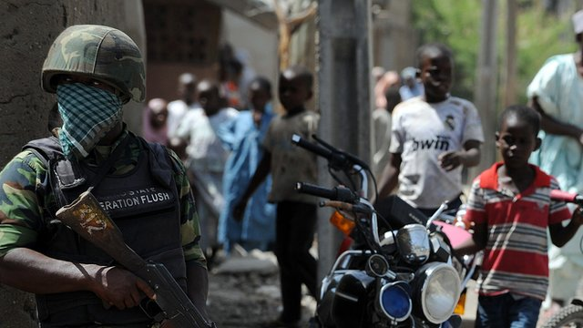 Nigeria army says crackdown to go on...