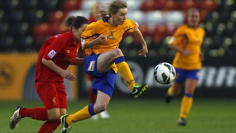 Doncaster Rovers Belles&#039; Ashleigh Mills