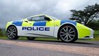 Police Lotus in road safety campaign