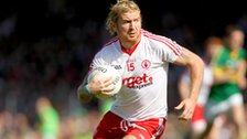 Owen Mulligan in action for Tyrone