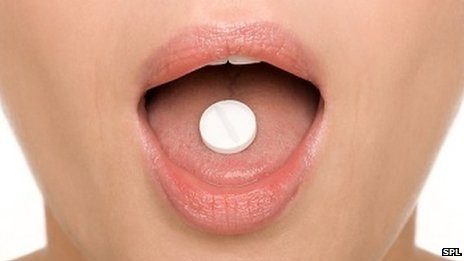 Popping a pill