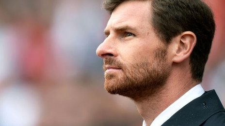 Tottenham manger Andre Villas-Boas